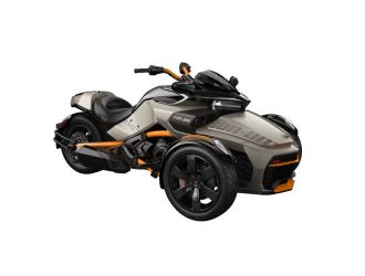 Can-Am Spyder F3-S SE6 Liquid Titanium '19